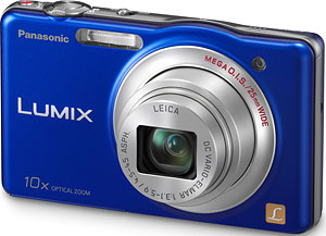 Panasonic's Lumix DMC-SZ1 digital camera. Photo provided by Panasonic Corp. Click for a bigger picture!