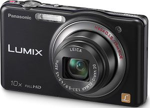 Panasonic's Lumix DMC-SZ7 digital camera. Photo provided by Panasonic Corp. Click for a bigger picture!
