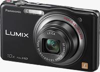 Panasonic's Lumix DMC-SZ7 digital camera. Photo provided by Panasonic Corp.