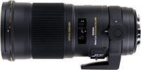 Sigma's APO Macro 180mm F2.8 EX DG OS HSM lens. Photo provided by Sigma Corp.