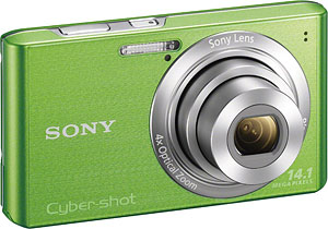 Sony's Cyber-shot DSC-W610 digital camera. Photo provided by Sony Electronics Inc. Click for a bigger picture!