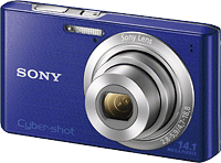 Sony's Cyber-shot DSC-W610 digital camera. Photo provided by Sony Electronics Inc.