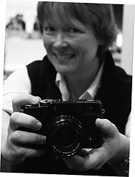 Fujifilm's Kayce Baker. Image copyright© 2012, Imaging Resource. All rights reserved. Click for a bigger picture!