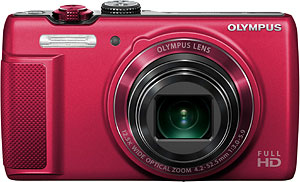 The Olympus SH-21 digital camera. Photo provided by Olympus Corp. Click for a bigger picture!