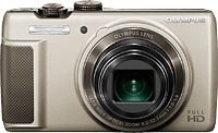 The Olympus SH-21 digital camera. Photo provided by Olympus Corp.