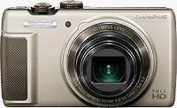 The Olympus SH-21 digital camera. Photo provided by Olympus Corp.