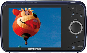 Olympus' VH-210 digital camera. Photo provided by Olympus Corp. Click for a bigger picture!