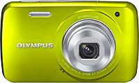 Olympus' VH-210 digital camera. Photo provided by Olympus Corp.