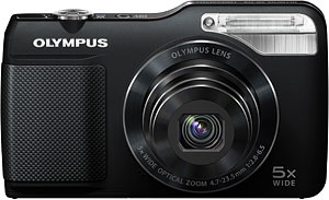 Olympus' VG-170 digital camera. Photo provided by Olympus Corp. Click for a bigger picture!