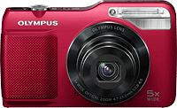 Olympus' VG-170 digital camera. Photo provided by Olympus Corp.