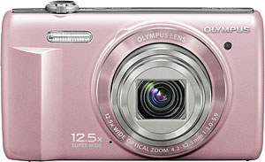 Olympus' VR-360 digital camera. Photo provided by Olympus Corp. Click for a bigger picture!