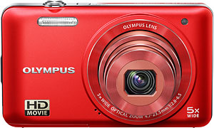 Olympus' VG-160 digital camera. Photo provided by Olympus Corp. Click for a bigger picture!