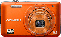 Olympus' VG-160 digital camera. Photo provided by Olympus Corp.
