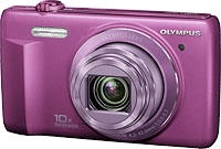 Olympus VR-340 digital camera. Photo provided by Olympus Corp.