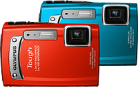 Olympus' Tough TG-320 digital camera. Photo provided by Olympus Corp.