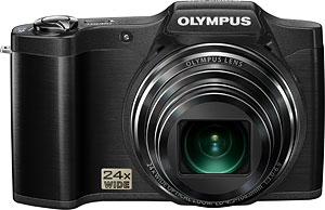 Olympus's SZ-12 digital camera. Photo provided by Olympus Corp. Click for a bigger picture!