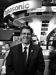 Panasonic's Darin Pepple. Copyright © 2012, Imaging Resource. All rights reserved.