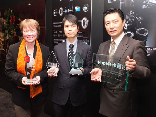 Fujifilm received four awards at the 2012 Consumer Electronics Show for its upcoming X-Pro1 digital camera. Photo provided by Fujifilm North America Corp.