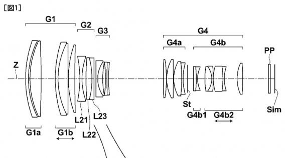 Fujifilm files patent for completely unique 85-300mm f/2.7