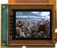 MicroOLED's new microdisplay. Image provided by MicroOLED SAS.