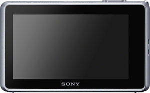 The Sony Cyber-shot DSC-TX200V digital camera. Image provided by Sony Electronics Inc. Click for a bigger picture!