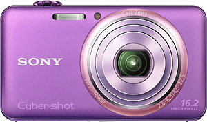 The Sony Cyber-shot DSC-WX70 digital camera. Image provided by Sony Electronics Inc. Click for a bigger picture!