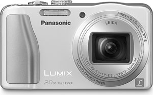 Panasonic's Lumix DMC-ZS20 digital camera. Photo provided by Panasonic Corp. Click for a bigger picture!