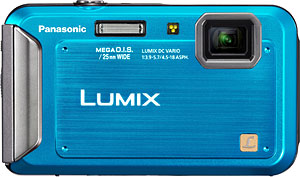 Panasonic's Lumix DMC-TS20 digital camera. Image provided by Panasonic Corp. Click for a bigger picture!