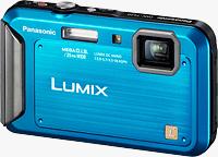 Panasonic's Lumix DMC-TS20 digital camera. Image provided by Panasonic Corp. Click for our Panasonic TS20 preview!