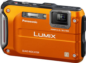 Panasonic's Lumix DMC-TS4 digital camera. Photo provided by Panasonic Corp. Click for a bigger picture!