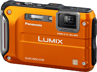 Panasonic's Lumix DMC-TS4 digital camera. Photo provided by Panasonic Corp. Click for our Panasonic TS4 preview!