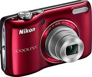 Nikon's Coolpix L26 digital camera. Photo provided by Nikon Inc. Click for a bigger picture!