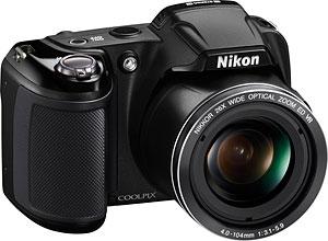 Nikon's Coolpix L810 digital camera. Photo provided by Nikon Inc. Click for a bigger picture!