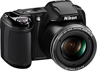 Nikon's Coolpix L810 digital camera. Photo provided by Nikon Inc. Click for our Nikon L810 preview!