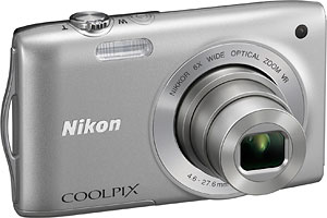 Nikon's Coolpix S3300 digital camera. Photo provided by Nikon Inc. Click for a bigger picture!