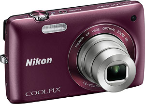 Nikon's Coolpix S4300 digital camera. Photo provided by Nikon Inc. Click for a bigger picture!