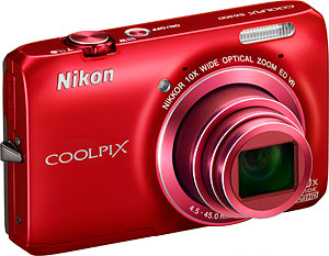 Nikon's Coolpix S6300 digital camera. Photo provided by Nikon Inc. Click for a bigger picture!