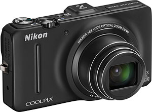 Nikon's Coolpix S9300 digital camera. Photo provided by Nikon Inc. Click for a bigger picture!