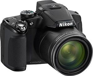 Nikon's Coolpix P510 digital camera. Photo provided by Nikon Inc. Click for a bigger picture!