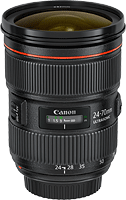 Canon's EF 24-70mm f/2.8L II USM lens. Photo provided by Canon USA Inc.