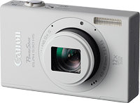 Canon's PowerShot ELPH 530 HS digital camera. Click to read our Canon 530 HS preview!