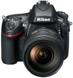 Nikon's D800 digital SLR. Click here to read our Nikon D800 preview!