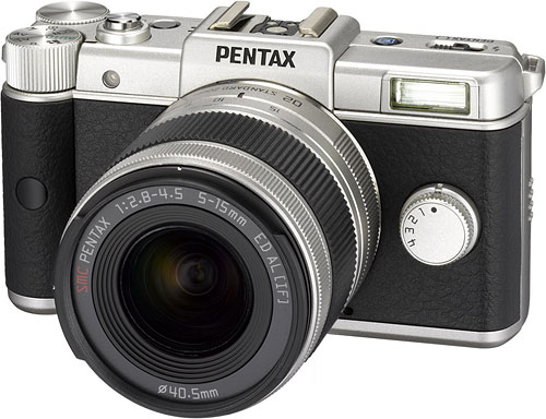 Pentax's Q Limited Silver will be sold in extremely limited quantity, with worldwide production of just 1,600 units. Photo provided by Pentax Ricoh Imaging Co. Ltd. Click for a bigger picture!