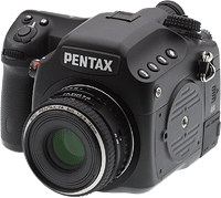 Pentax's 645D SLR. Copyright © 2012, Imaging Resource. All rights reserved. Click to read our Pentax 645D review!