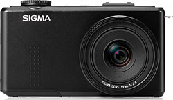 Sigma's DP1 Merrill digital camera. Photo provided by Sigma Corp. Click for a bigger picture!