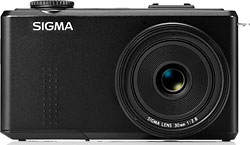 Sigma's DP2 Merrill digital camera. Photo provided by Sigma Corp. Click for a bigger picture!