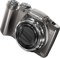 Olympus' SZ-31MR digital camera. Photo provided by Olympus Imaging America Inc. Click for our Olympus SZ-31MR preview!