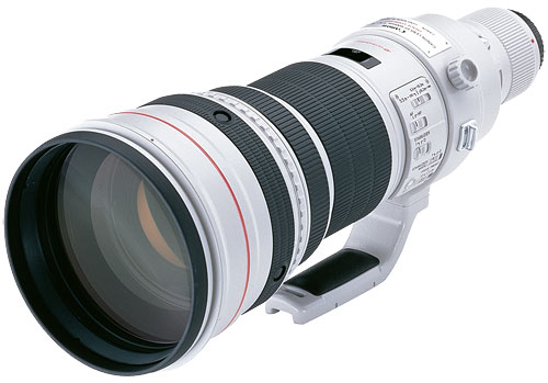 Canon's EF 600mm f/4L IS II USM lens. Photo provided by Canon Inc. Click for a bigger picture!