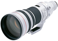 Canon's EF 600mm f/4L IS II USM lens. Photo provided by Canon Inc.