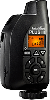 The PocketWizard Plus III transceiver. Photo provided by LPA Design Inc.